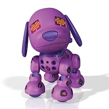 Mini Zoomer Zuppies Lilac - Spin Master Toys