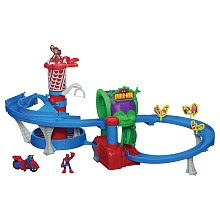 Playskool - Spider-Man - Circuit en folie - Hasbro