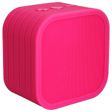 Enceinte bluetooth cube rose - Sakar