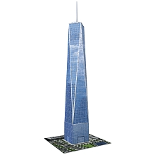 Puzzle 3D Building One world New York - Ravensburger