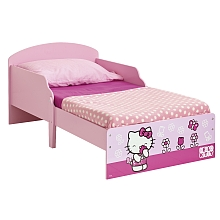 Lit en bois Hello Kitty 140 x 70 cm - Worlds Apart Limited