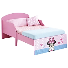 Lit en bois Minnie 140 x 70 cm - Worlds Apart Limited