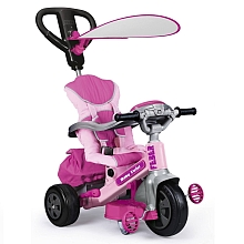Tricycle Évolutif Baby Twist 360° - Fille - Famosa