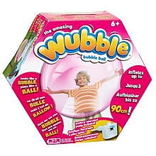Wubble - Bulle Géante 90 cm - Rose (+ Gonfleur) - Blue Box