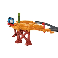 Fisher Price - Thomas et ses Amis - Circuit Danger sur le pont - Mattel