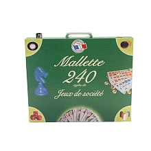 Ferriot Cric - Mallette 240 jeux - Ferriot Cric