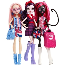 Poupée Monster High Pack de 3 poupée Celebrity Tour - Mattel