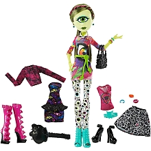 Poupée Monster High - Iris et 2 tenues - Mattel