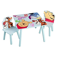 Table + 2 chaises Winnie - Delta