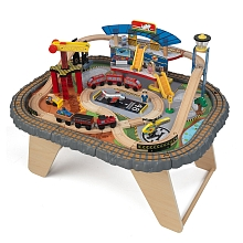 LDD Kidkraft - Circuit + table Transportation Station - Kidkraft