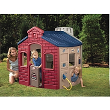 LDD Little Tikes - Maison 4 en 1 naturel - Little Tikes