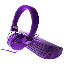 Enceinte Bluetooth + Casque Audio - Violet - Sakar
