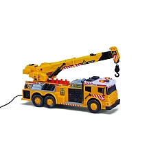 Camion grue sonore