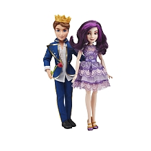 Descendants Pack de 2 poupées - Mal et Ben - Hasbro