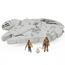 Véhicule Millenium Falcon Star Wars Episode VII + 3 figurines - Hasbro