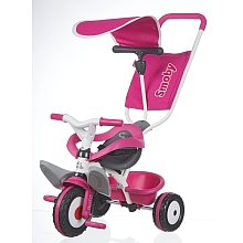 Smoby - Tricycle Baby Balade - Rose - Smoby