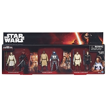 Coffret 6 figurines Star Wars - Qui-Gon Jinn vs Darth Maul