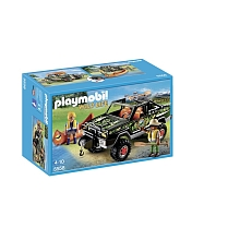 Playmobil - Pick-up des aventuriers - 5558 - PLAYMOBIL