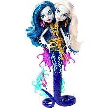 Poupée Monster High - Péri et Pearl Serpentine DHB47 - Mattel