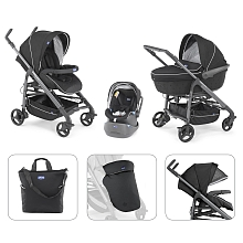 Chicco - Poussette Trio - Trio Love - Black - Chicco