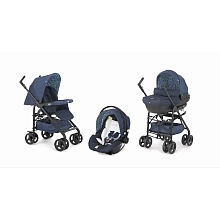Poussette Trio Sprint Black Midnight - Chicco