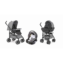 Poussette Trio Sprint Black Coal - Chicco