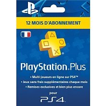 PlayStation Plus Card - Abonnement 12 Mois - Sony