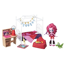 Hasbro - My Little Pony - Equestria Girls - Chambre de Pinkie Pie - Hasbro
