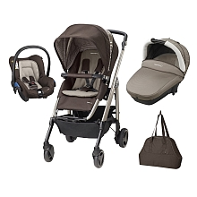 Poussette Trio Loola Excel Earth brawn - Bebe Confort