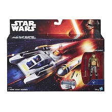 Véhicule léger Deluxe Star Wars Episode VII - Y Wing Scout Bomber (B3677) - Hasbro