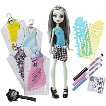 Poupée Monster High - Frankie Stein et ses habits - Mattel