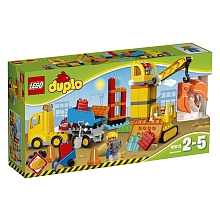 LEGO® DUPLO Town - Le grand chantier - 10813 - Lego