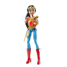 DC Super Héro Girls - Poupée Wonder Woman animée - Mattel