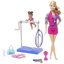Poupée Barbie -  Set Barbie Gymnaste - Mattel