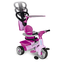 Feber - Tricycle Baby Plus Music - Rose - Feber