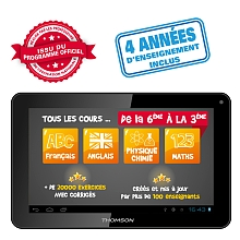 Thomson - Tablette Android Éducative Teo 10'' - Collège - Thomson