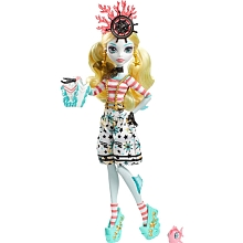 Poupée Monster High Pirate - Lagoona blue - Mattel