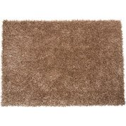 Tapis beige shaggy Lilou