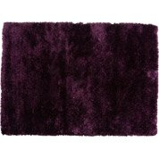 Tapis violet shaggy Twinkle