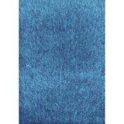 Tapis turquoise shaggy Lilou