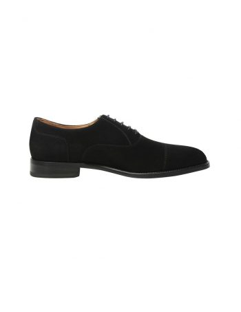Richelieu captoe en noir - SHOEPASSION