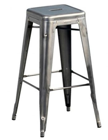 Tabouret de bar Tolix (lot de 2) - AM.PM