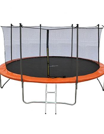 Trampoline JUMP4FUN 13FT - 400cm - Orange - JUMP4FUN