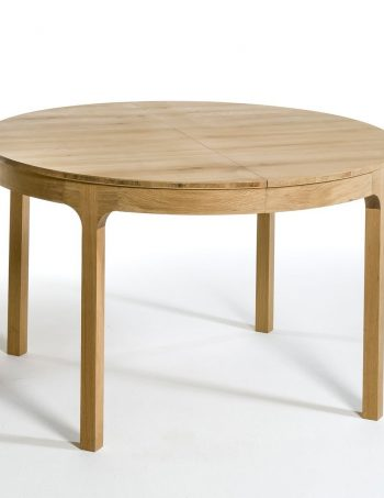 Table ronde Ø120 cm à allonge