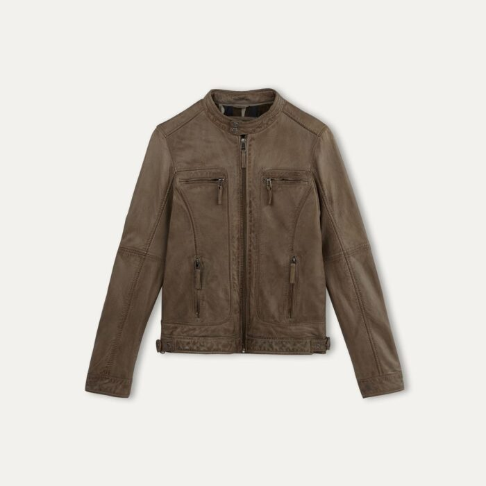 Veste cuir - OAKWOOD