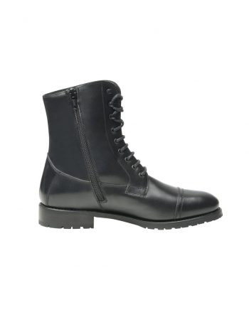 Boots captoe en noir - SHOEPASSION