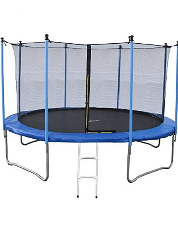 Trampoline JUMP4FUN 12FT - 366cm -Bleu - JUMP4FUN