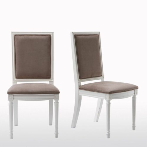 Chaise style Louis XVI (lot de 2)