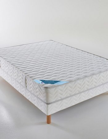 Ensemble matelas mousse HD + sommier - REVERIE