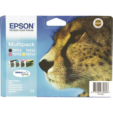 Pack Cartouches EPSON T0715 - Epson